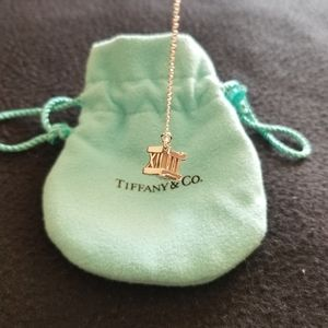 Tiffany and Co Altas Cube Necklace